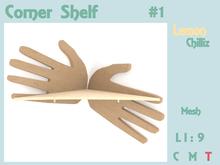 Corner Shelf - Hand Design (Mesh) [Lemon Chilliz]