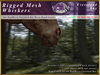 *E* RealHorse Rigged Mesh Whiskers [BOXED]  RHCB