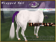 *E* Hunter Tail [BOXED] RH POA Pony