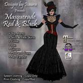 Masquerade Red & Black Outfit