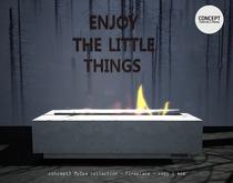 Concept}* MySpa -Fireplace BOX