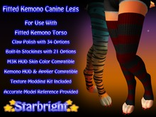 Fitted Kemono Canine Legs