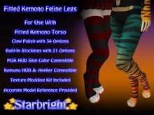Fitted Kemono Feline Legs