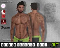 B*FLY Dragon Sleeves 01 Tattoo