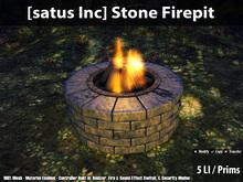 [satus Inc] Stone Firepit