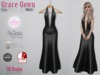 Grace Gown Glam Black