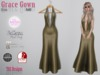 Grace Gown Glam Gold
