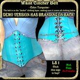 Wunderlich's DEMO Waist Cincher Corset Belt