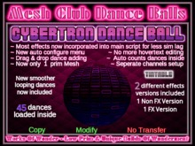 Cybertron Dance Ball -Mesh-