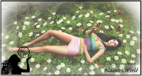 :LW: Poses - Happiness is like a Butterfly