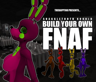 Second Life Marketplace Rapptor Build Your Own Fnaf