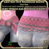 Wunderlich's DEMO Lace Belt