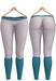 Blueberry - Georgina Mesh Yoga Pants - Maitreya Lara, Belleza Freya Isis Venus, Slink Physique Hourglass - White