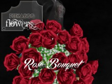 p-a-b celebration rose bouquet velvet red