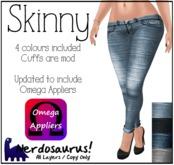 Nerdosaurus - Skinny Jeans (Omega Appliers)