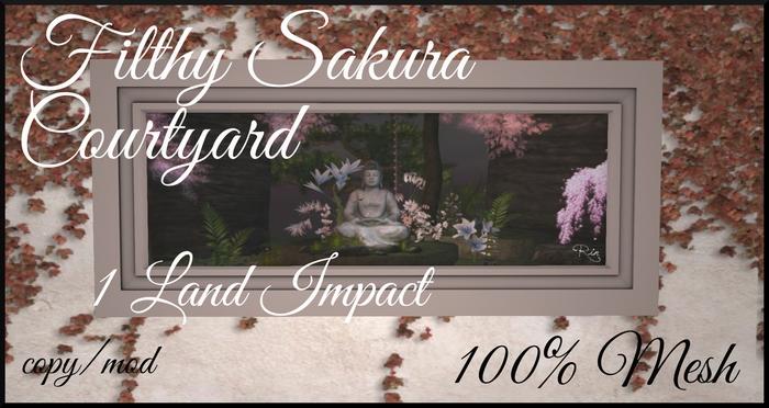 [Rin] Filthy Sakura Courtyard