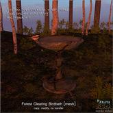 -Hanaya- Forest Clearing Birdbath [mesh]