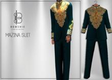 <*>B<*> Mazina Suit Deep Emerald