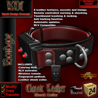 KDC Classic shock collar