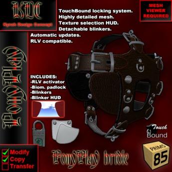 KDC PonyPlay bridle
