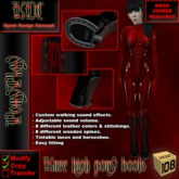 KDC Knee-high Pony Boots