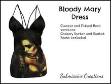 DEMO For 'Bloody Mary' 'Alice' 'Cranium' 'Buzzkill' Dress