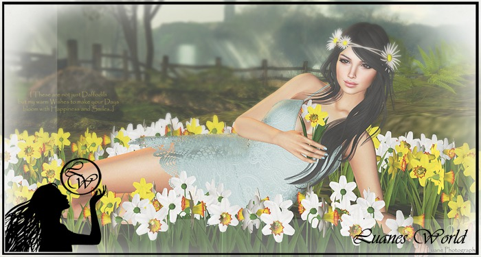 :LW: Poses - Not just daffodils - single female pose prop