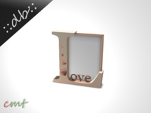 ::db:: Love Picture Frame rose
