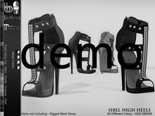 Bens Boutique - Sibel High Heels - Hud Driven Demo