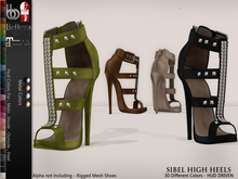 Bens Boutique - Sibel High Heels - Hud Driven