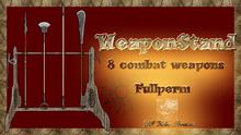 WeaponStandfULL box FULLPERM