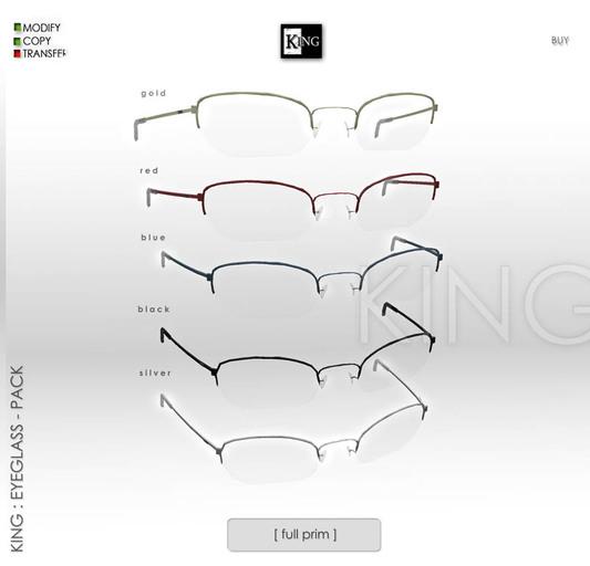 King : Eyeglass - Pack [ Eyeglass - Eyeglasses For Men