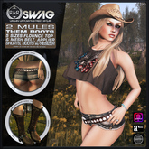 [RnR] Swag Them Boots Country Outfit & Western Outfit w/ Classic Avatar!