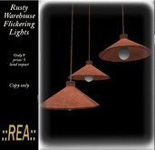 ::REA:: Rusty Warehouse Light (Flicker)