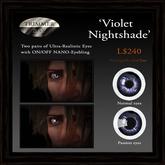 Eyes - 'Violet Nightshade' by Trimmer Bay