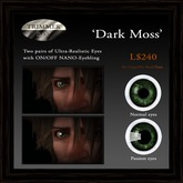 Eyes - 'Dark Moss' by Trimmer Bay