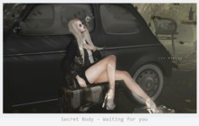 Secret Body - Waiting for you - pose