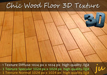 JU Chic Wood Floor 3D Textures Full Perm