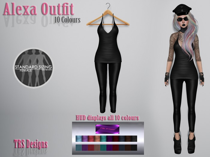 Alexa Outfit With Hud