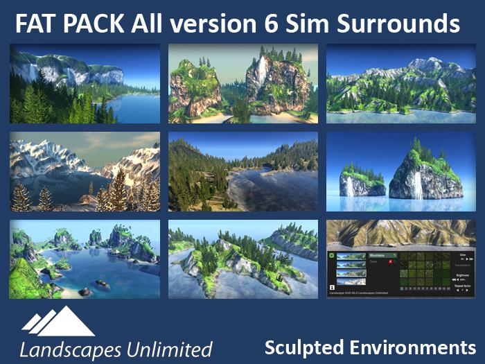 Sim Surround Landscapes (Full sim surrounds)