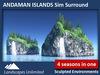 Andaman islands surround main