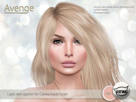 [Avenge] Layla skin applier for Catwa - pale