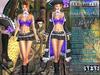 Bella Moda: Attrezzatura Pirata Purple Pirate Outfit - Fitted Mesh for Maitreya/Slink/Classic+Std Sizes - FULL