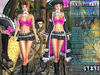 Bella Moda: Attrezzatura Pirata Pink Pirate Outfit - Fitted Mesh for Maitreya/Slink/Classic+Std Sizes - FULL