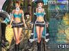 Bella Moda: Attrezzatura Pirata Aqua Pirate Outfit - Fitted Mesh for Maitreya/Slink/Classic+Std Sizes - FULL
