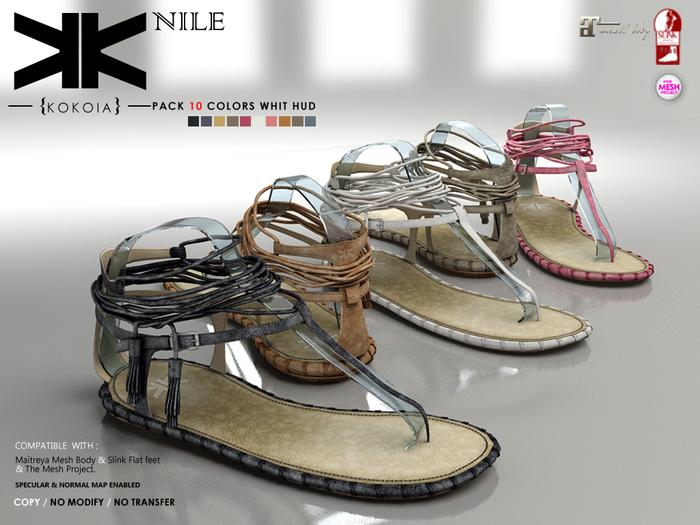 Nile :: Shoes :: 10 Colors :: {kokoia}