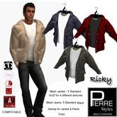 RICKY CASUAL JACKET,shirt multi- Jeans