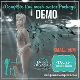 DEMO .:pixies:. Alexis small .50m mesh COMPLETE AVATAR KIT