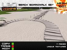 Beach Boardwalk Set