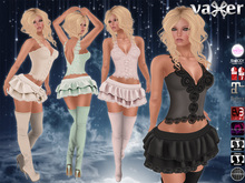 Vaxer :: Dreams Outfit (Maitreya, Belleza (V, I, F), Slink, #TMP, eBody, EVE & Omega) + Boots